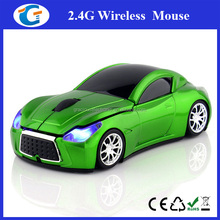 2.4G wireless 3d USB Optical car PC computer Mouse usb mouse race car computer mouse