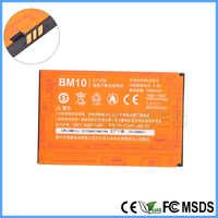 100% Original Mobile Phone Battery BM10 replacement Lithium Polymer Battery 3.7V 1930 mAh for Xiao mi M1