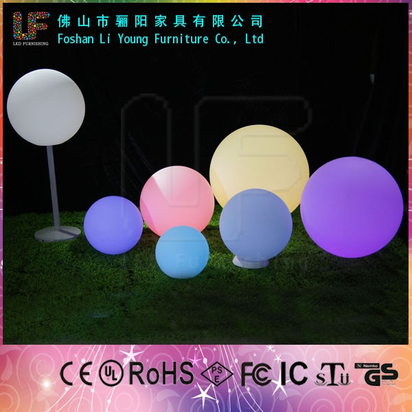 Led lighting Christmas decoration outdoor party flashing led light ball lamps