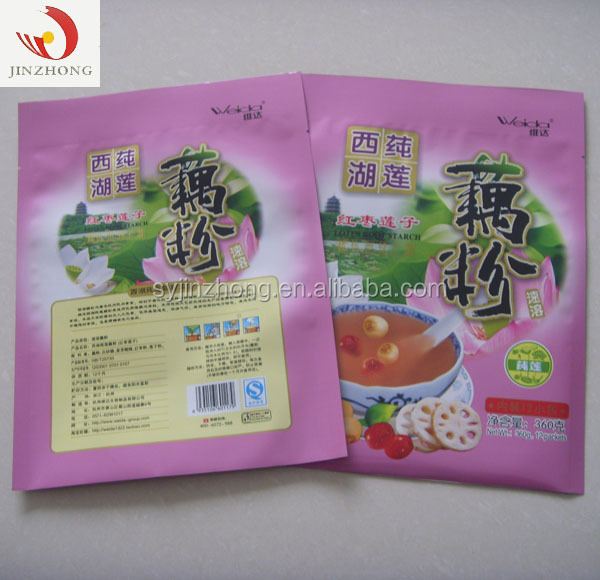 Plastic Packing Silicone Food Bag