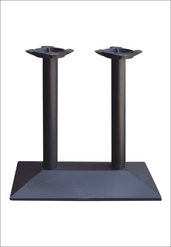 Double Columns Thick Wrought Cast Iron Table Base Table Leg For Big Table Top HS-<strong>A056</strong>