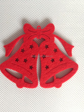Machine cutting fabric felt christmas tree decoration with top quality-108