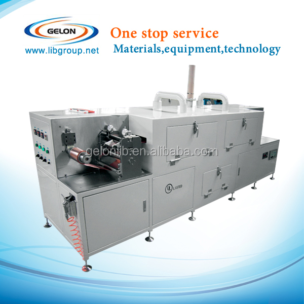 Laboratory coater with three temperature areas, lithium battery machine