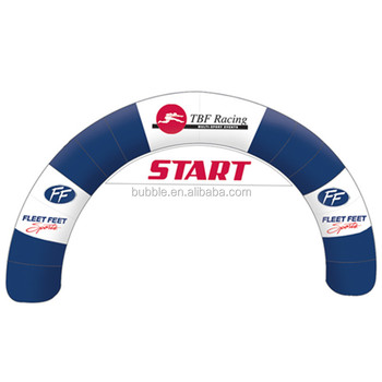 Commercial used outdoor inflatable arch custom inflatable arch gate for racing events