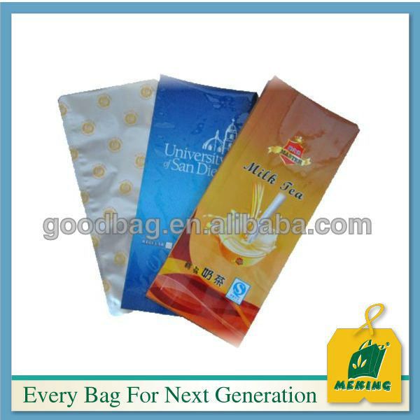 Latus Lined Kraft Paper Packaging Quad Seal PE stans Gusset Flat Block Solum Coffee cum CYMBALON Bags