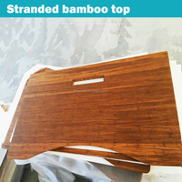 Stranded Tiger Woven Bamboo Desk Top