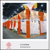 Customized Display booth design from Ling Tong Exhibition System