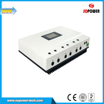 100 Amp Solar Charging Panel Voltage Chage Controller with 3 Stage Charge, Auto Recognition