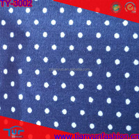 2015 newest pattern african cheapest polk dot stylish cotton printing fabric wholesale