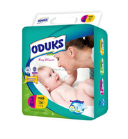 OEM customized Soft Breathable Baby Diaper Importers