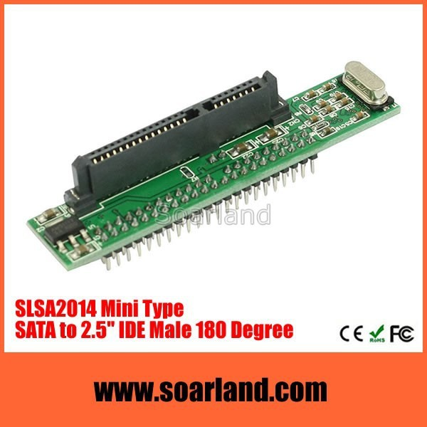 Factory Price 2.5 sata hdd to ide bridge board laptop