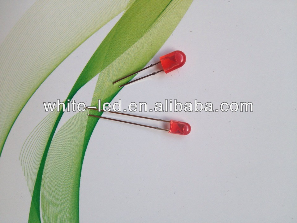 High Brightness white red green 5mm 3mm Oval LEDs,for LED Diplayer,2500~3000mcd /Sombrero de paja blanco de 5mm de LED
