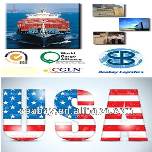 cargo ship from china to usa