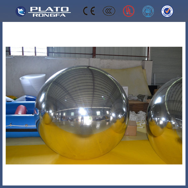 inflatable decoration mirror ball, giant reflective mirror ball