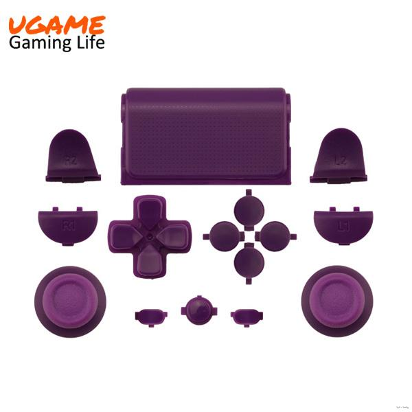 Custom glossy button kits for ps4 controller