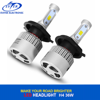 Auto Headlights Car H4 High Low Beam Led Headlight Bulbs S2 CSP H4 LED Headlight for Car