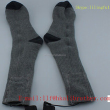 3.7v 2200mAh Rechargeable Battery Heating Socks With Battery