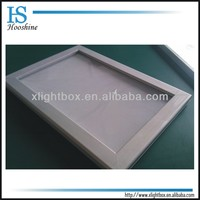 Advertising snap slim light box / front opening frame