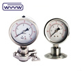 oil filled ss316 diaphragm manometer WYYW