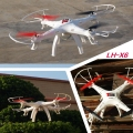 LH-X6DV 2.4G 6 AXIS 4CH HEADLESS MODE SKYLINE RC DRONE FPV QUADCOPTER WITH HD CAMERA