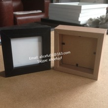 Promotional gifts 4x4 Square MDF wooden photo pictrue frame