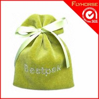 Fashion 2015 Foldable Cotton Drawstring Bags