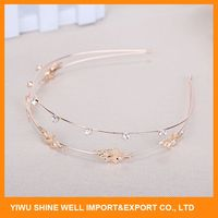 High performance custom design metal wire headband with fast delivery