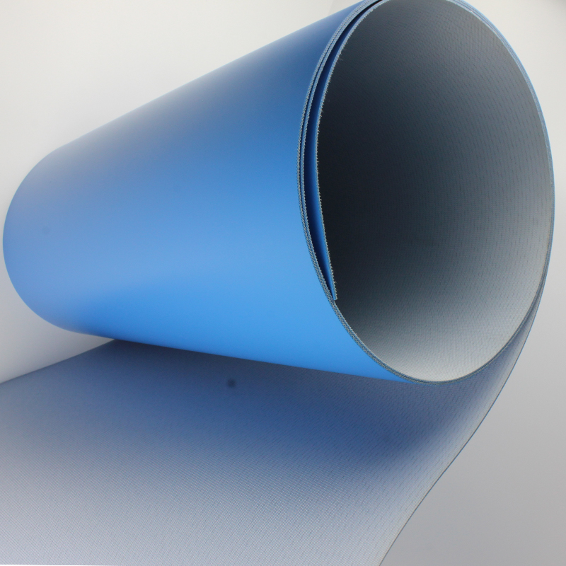 oil resistant blue pvc conveyor belts <strong>used</strong> in all kinds of industry
