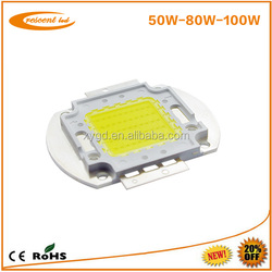 high power led bridgelux chip 100w led chip 130-140lm/w