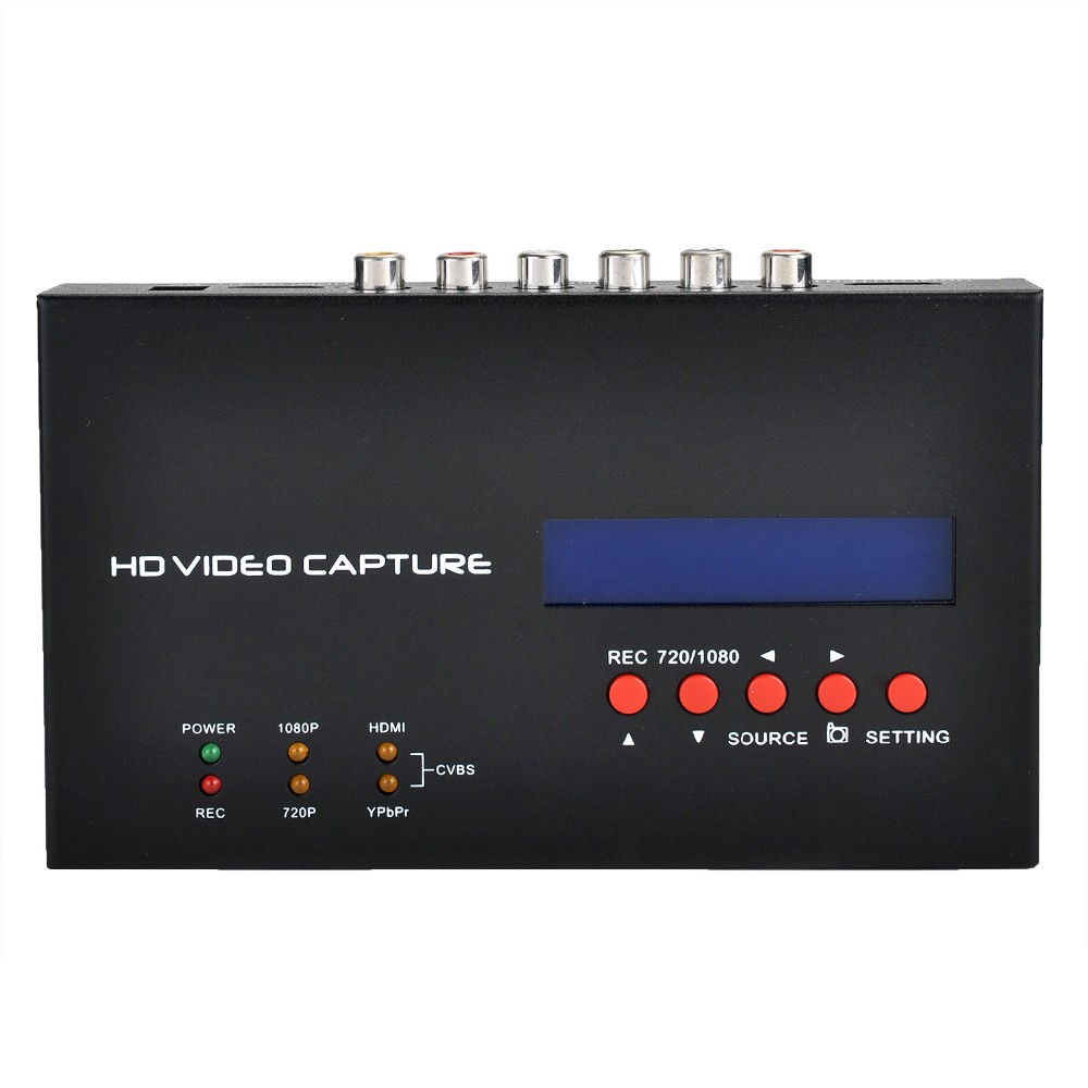 HD 1080P TV Videos Capture ezcap283S support schedule recording time schedule with snapshot