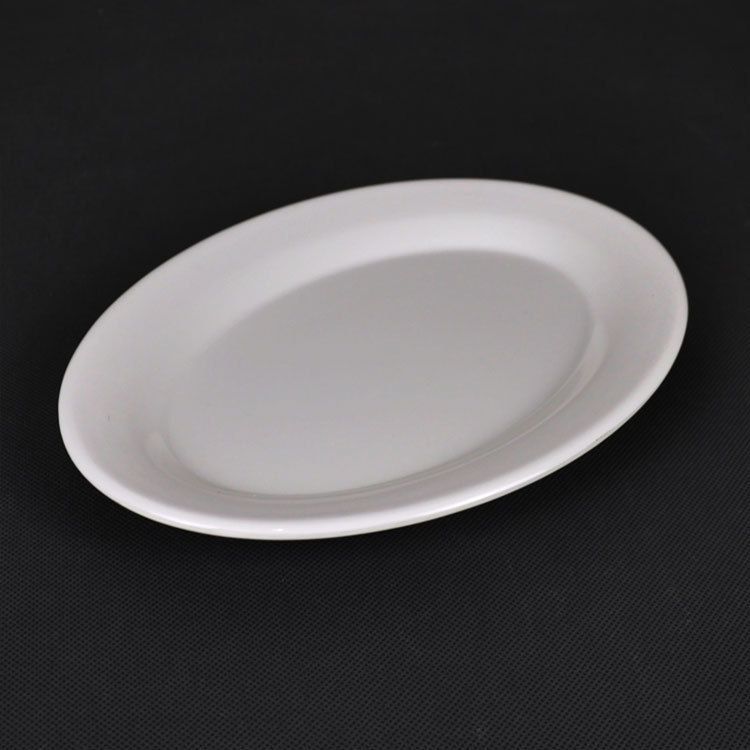 14 Inch Reusable Melamine Oval Plates For Dubai