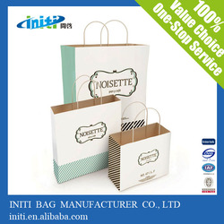 Custom Advertising Machine Made Paper Bag with Your Logo