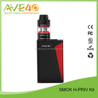In Stock!!! High Quality Smok H-Priv 220W Vape Kit with Micro TFV4 Tank Wholesale from Ave40