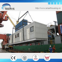 movable house for camp similar container house
