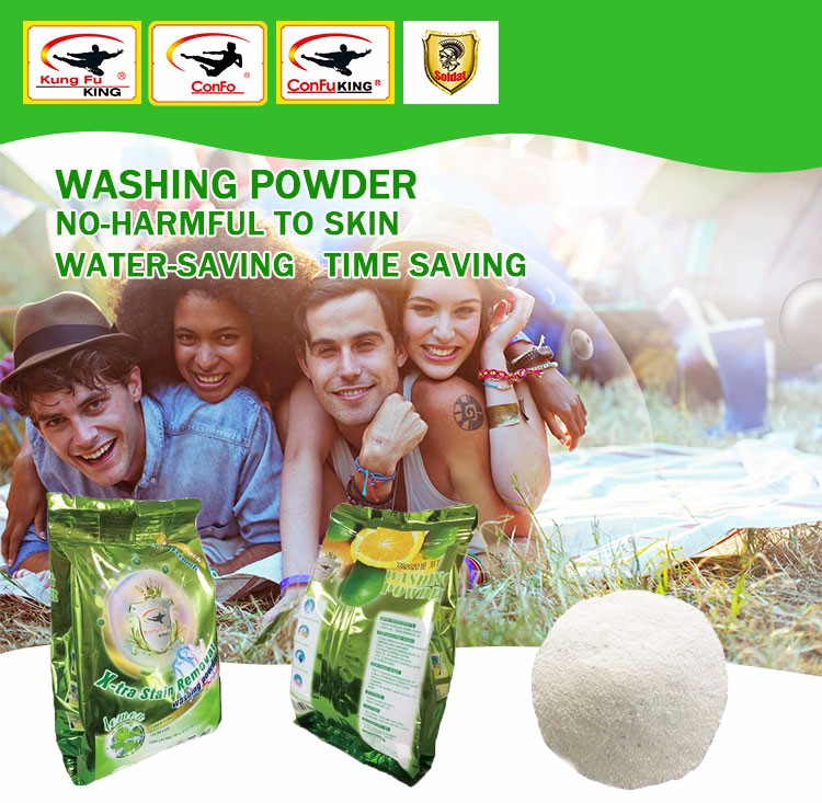 save 10% phosphorus-free high foam laundry detergent washing powder