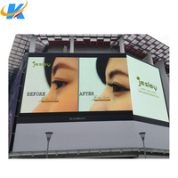2016 new product outdoor P10 full color led display with mbi 5020 ic epistar lamp outdoor advertising display screens 1/4 scan