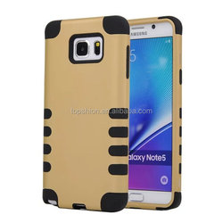 Rugged High Quality Impact Hybrid Soft Silicone Hard Skin Case Cover For Samsung Galaxy Note 5, China Supplier