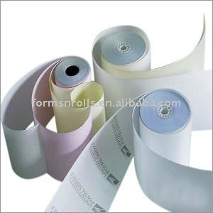 Carbonless Receipt Parking Ticket Carbonless Paper Roll
