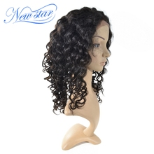 New Star Hair Deep Curly Full Lace Wig Best Quality 100% Brazilian Human Hair Wig