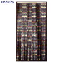New bamboo beaded painted door curtain
