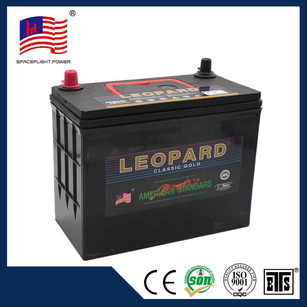 high quality 12volt 45ah 55b24r full capacity quick start battery for car 12v