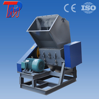 Can add water to Plastic crusher grinder shredder pp film machine