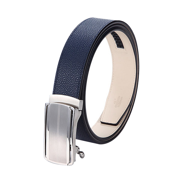 Factory Wholesale Automatic Buckle Mens Leather Ratchet Belts