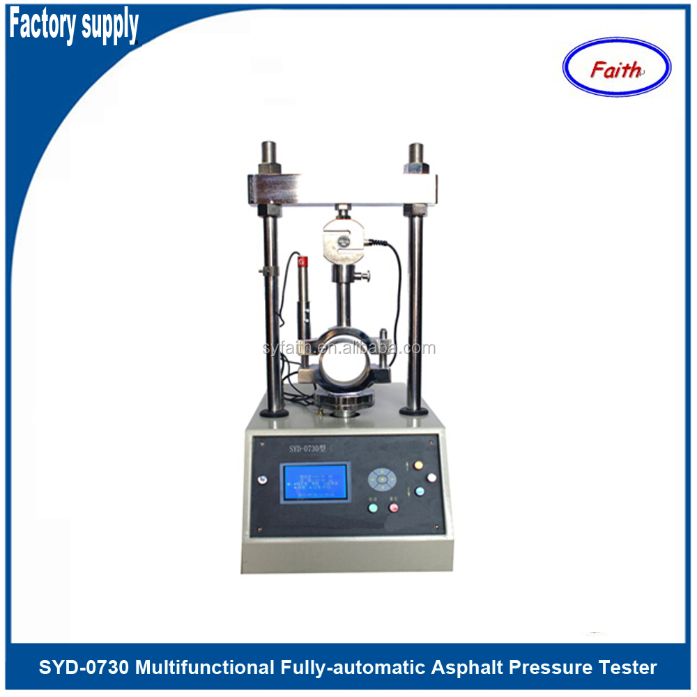 Multifunctional Fully-automatic Asphalt Pressure Tester to test stability of bituminous mixtures