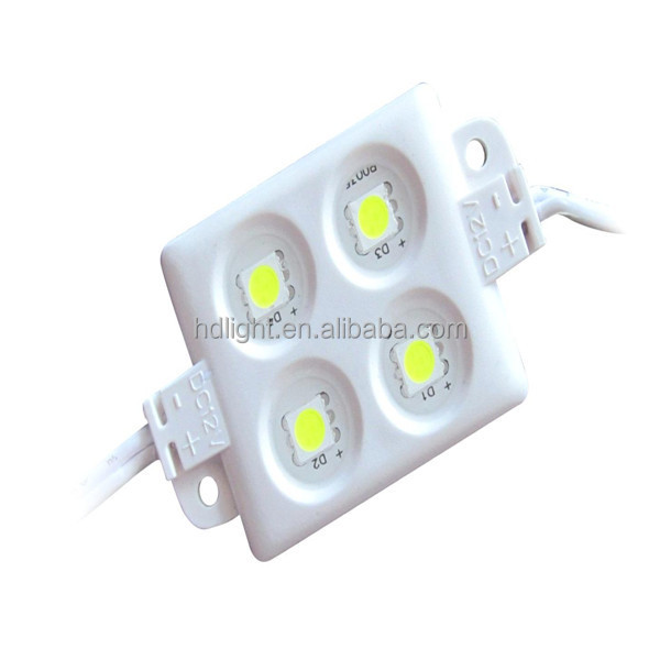 Promotion price high quality 4 chip DC12V LED injection 5050 led module