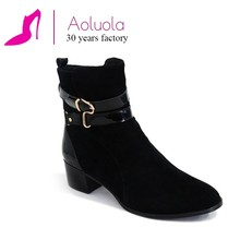 China manufacturer fashion ladies ankle boots With Good After-sale Service