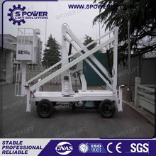 Hot sale used hydraulic self-propelled articulating boom lift