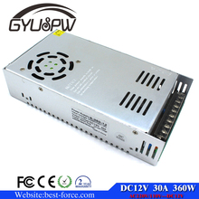 universal Power Supply 360W 12V 30A Single Output Switching power Adapter Driver AC TO DC for CNC Led strip Modules Light