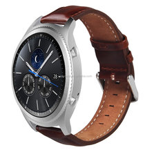 Hot Fashion For Samsung Gear S3 Frontier/Classic Smart Watch Bands Genuine Leather Replacement Bracelet Straps