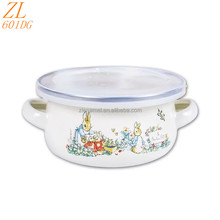 Children Cookware Sets Kitchen Enamel Casserole Set Enamel Cookware